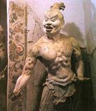敦煌石窟雕塑力士像(唐代)