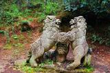 千狮山的石狮子(五代十国)